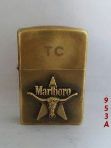 Z.953A __solid brass 1991 _MARLBORO đầu bò