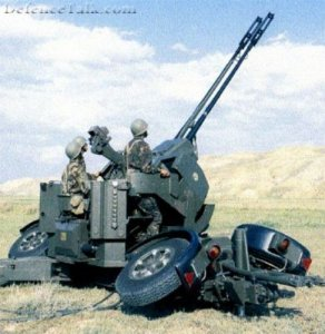 Anti-Aircraft. Pháo Binh phòng không của quân đội Mỹ.