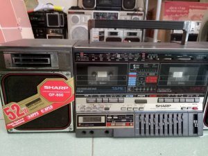 radio cassette sharp gf800