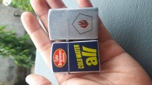 1 cặp bật lửa Nhật size mini hàng chuẩn xưa