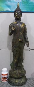 Tượng đồng khổng lồ cao 70cm nặng 7kg hội xuân độ