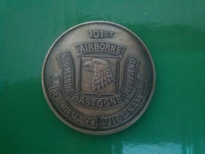 Bán xu bạc 101st Airborne VietNam 1966