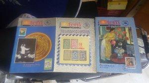 3 cuốn tạp chí tem 1996 và 1997