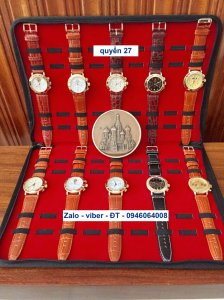 Trình làng bộ sưu tập quyển 27 : đồng hồ Nga russia tổng hợp các mẫu đẳng cấp máy 3133 chronograph