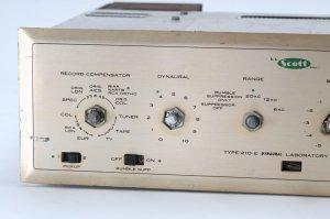 HH Scott 210-E Vintage Tube Mono Amplifier Integrated Amp 210 E PARTS/REPAIR