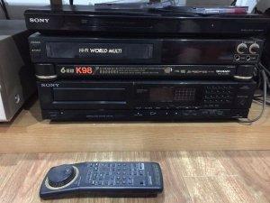 CDP Sony750 và đầu băng sharp K98