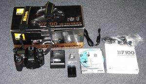 Nikon D7100 fullbox, không kèm lens