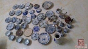 Thanh lý nhanh 46 bát đĩa ,nậm cổ các triều đại Thanh, Minh, Lê ,Lý , Nguyễn giá hạt rẻ