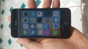 Apple Iphone 4S 16 GB màu đen quốc tế !