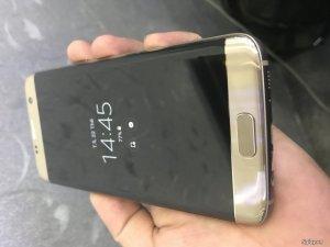 Samsung s7 edge gold like new