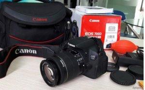 Canon 700D, Lens 18-55 STM, Fullbox