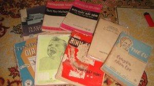 Giao lưu lô sách trước và sau năm 75