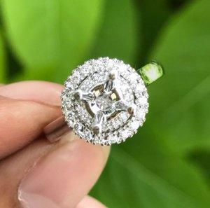 Ổ nhẫn nữ vàng 14k