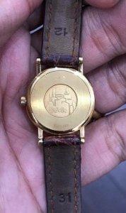 Omega Deville vàng đúc 18K zin Thuỵ Sỹ toàn bộ 100% size 23mm