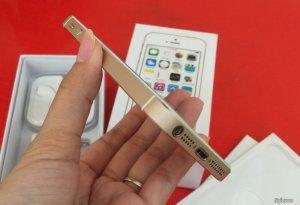 Iphone 5S 16Gb Gold-Hàng Mỹ quốc tế-Mới đẹp 99%