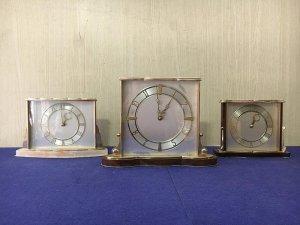 Bộ 3 đồng hồ để bàn Made in England 1950