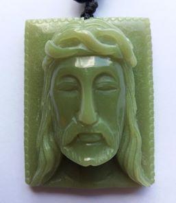 Tượng chúa JESUS làm bằng đá phát sáng quý hiếm độc và lạ hội xuân độ