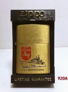 Z.920_brush brass 1993-tàu khu trục Đuúc FGS NIEDERSACHSEN
