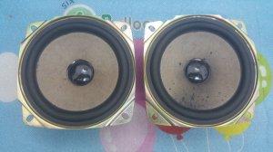 Đôi loa toàn dải SHARP Nhật, Đường kính loa = 10,5 cm