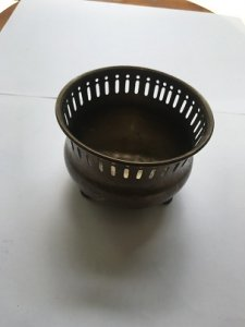 Thố Đồng SOLID BRASS MADE IN INDIA Đồ xưa