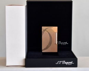 St Dupont Linge 2 Pink Gold
