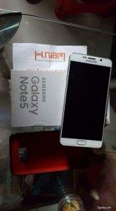 Note 5 trắng 2 sim 32gb, N9208, mua ở hnam đẹp như tiên