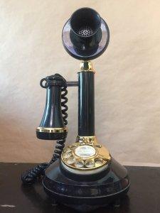Điện thoại quay số cổ 1973 của Mỹ,hoạt động tốt