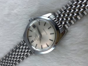Omega Seamaster Chronometer Automatic stainless steel Case & Bracelet SS Cal564 dial's White Silver
