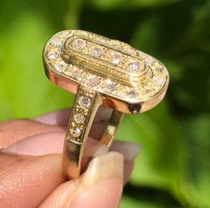 Nhẫn nữ vàng ngoại 18k. Giá: 3,7tr
