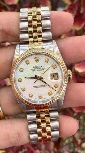 """Rolex 16233 """"mặt Xà cừ Hột lớn"""" zin Thụy Sỹ Size 36mm"""