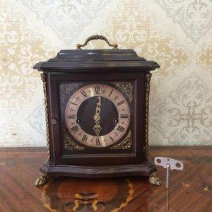 Đồng hồ hộp gỗ chạm FHS 5 gong sx Đức 1950