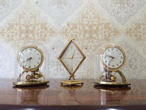 Đồng hồ uply 400 ngày Kundo viền xích sx Đức 1960