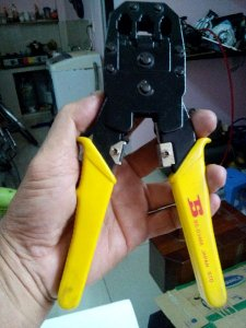 Kềm bấm,cắt dây mạng made in japan