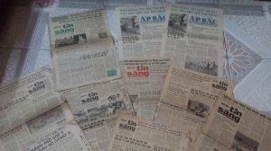 10 tờ báo Tin sáng & Ấp Bắc 1975-1977