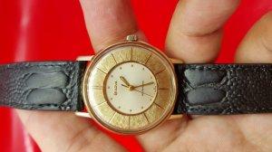 Đồng hồ bulova mặt 2 tầng độc, xưa chính hãng