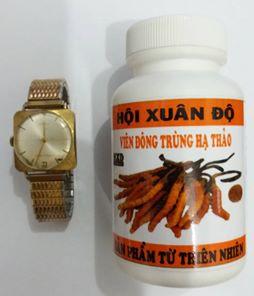 Đồng hồ cổ mạ vàng thụy sĩ hội xuân độ