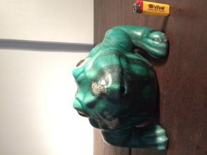 GL Chú ếch xanh to