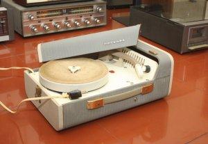 Vali máy hát đĩa than ( LP ) PHILIPS