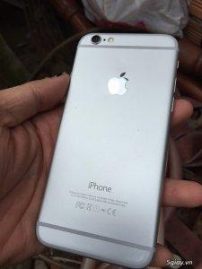 iPhone 6 16Gb Quốc Tế Silver, hư vân tay