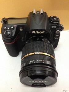 Cần bán con Nikon D300 + Tamron 17-50