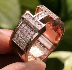 Nhẫn HERMES vàng ngoại 18k(750). Giá: 24,9tr