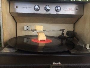 Máy hát đĩa than LP GENERAL Mỹ
