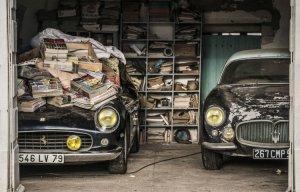 Phát hiện kho báu siêu xe bị lãng quên tại một nông trại ở Pháp