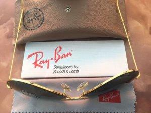 Rayban Mỹ sx 1980 mới 100% chưa đeo, size 62/14 mắt G15.