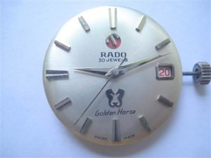 RADO Golden Horse 30Jevels.