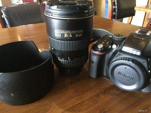 Full bộ máy ảnh Nikon D5300+Lens Nikon 17-55mm F2.8 G ED-IF AF-S DX