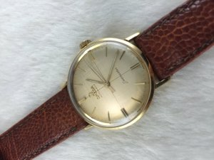 Omega Seamaster Deville Automatic gold filled 14k Cal550 dial's Satin Cross