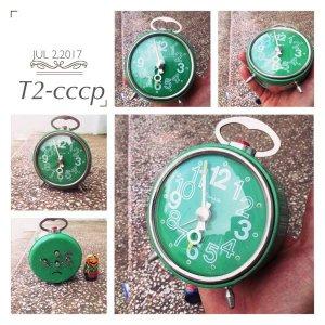 Đồng hồ Iantar mặt xanh lục bảo