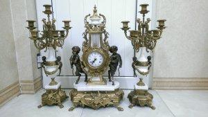 Bộ đồng hồ nhảy dây nhân mã xuất sứ Germany 1950 -1960