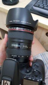 Cần bán Lens Canon 24-105 F4L chính hãng LBM 1/2019